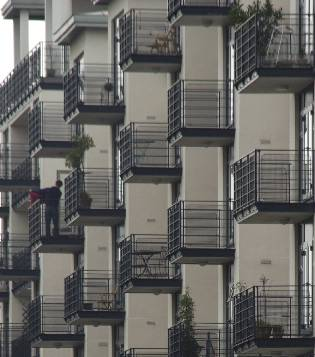 picture of flat balconies
