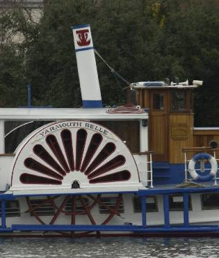 Picture of a passenger steamer